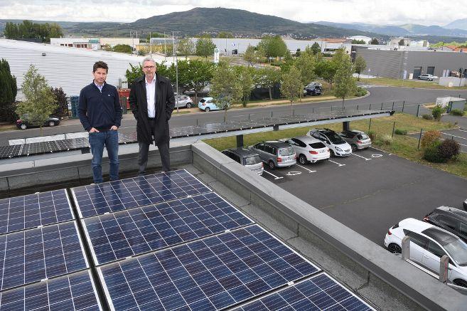 Produire et consommer collectivement son électricité photovoltaïque : première expérience en Auvergne à Cournon